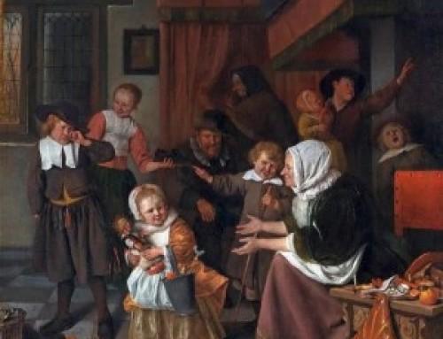 Woensdag 28 november 2018 : Sinterklaasfeest door de eeuwen heen, locatie 't Stamhuis, Kerkstraat 11, aanvang 20.00 uur