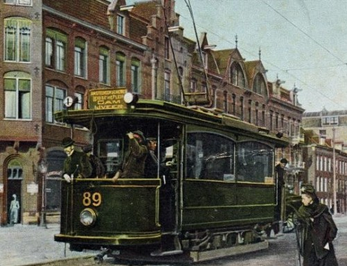 Zondag 24 februari 2019 : de Amsterdamse Tram van 1875 tot 2018, locatie Slot Purmersteijn, Slotplein, aanvang 14.00 uur